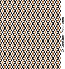 vector diagonal gold square checkered background or texture