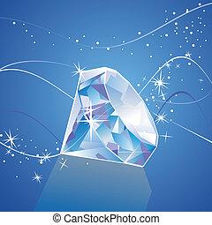 vector, diamant