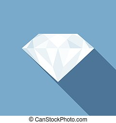 Vector diamond icon