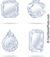 Vector diamonds set