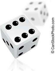 Vector dices. EPS v.8.0