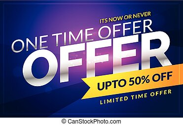 vector discount sale voucher design template with offer details