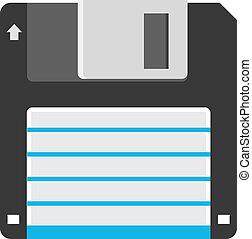 Vector Diskette Icon