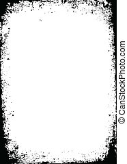 Vector Distressed Border. Simply place over any design to...