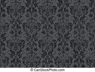 Vector Distressed Victorian Background.