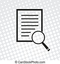vector, document, pictogram