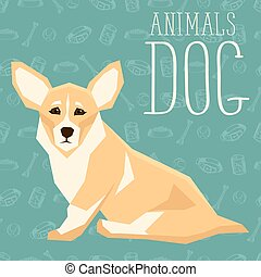 Vector Dogs Collection - Vector geometric dogs collection ...