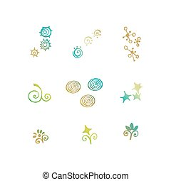 Vector Doodle Icons Universal Set