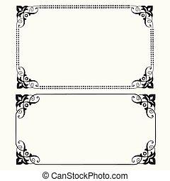 Vector Dot Frames - Detailed illustrated frames. Easy to...