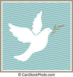 Vector Dove of Peace