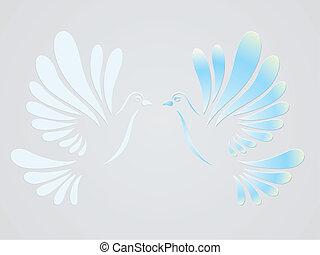 Vector doves