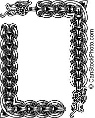 Vector Dragons frame
