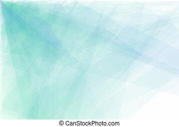 vector, driehoek, abstract, achtergrond