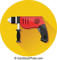 Vector Drill Icon