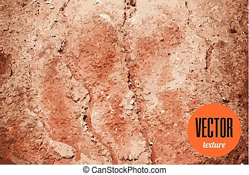 Vector dry land cracked ground texture