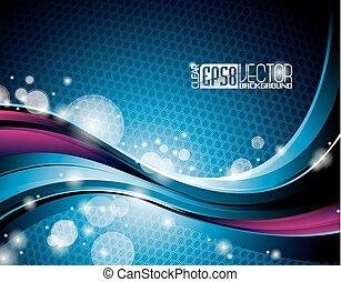 Vector dynamic design background