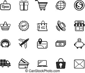 Vector E Commerce Icons Set
