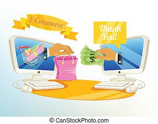 Vector E Commerce Shopping Illustra