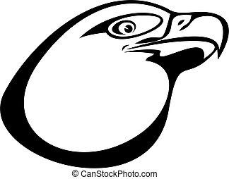 Vector - eagle head