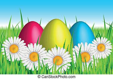 Vector Easter background