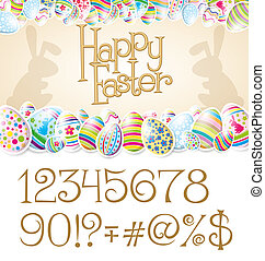 Vector Easter Card