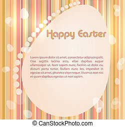 vector Easter colorful background