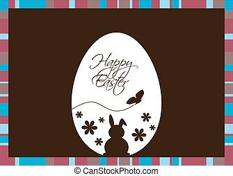 Vector Easter Egg Brown