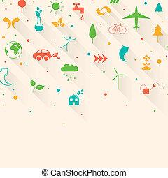 vector, ecologie, achtergrond
