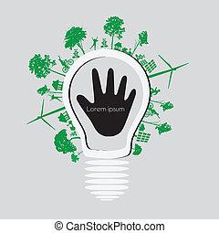 Vector ecology concept
