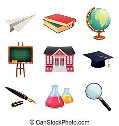 Vector Education Design Elements