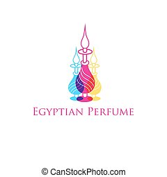 Vector Egyptian perfume