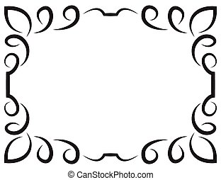 Vector elegant framework for design - Vector of beautiful ...