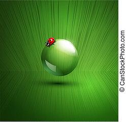 vector element for ecological design
