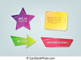 Vector elements for business presentations