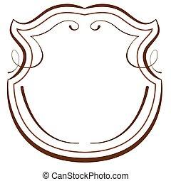 vector elements for design. decorative frame