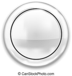 Empty White Button