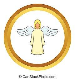 vector, engel, pictogram