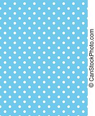 Vector eps 8 Blue Polka Dots - vector, eps8, Jpg. Blue...
