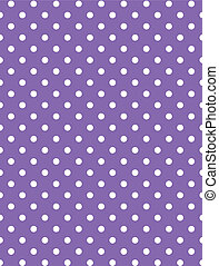 Vector eps 8 Purple Polka Dots