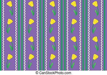 vector, eps, paarse , behang, 8