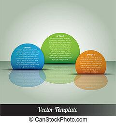 vector, eps10, ilustración, plantilla