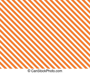 Vector, eps8, jpg. Seamless, continuous, diagonal striped background in orange and white.