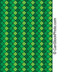 Vector Eps8, Green Variegated Diamo - Vector eps8, green...