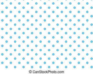 Vector Eps8 White Blue Polka Dots