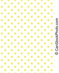 Vector Eps8 White Yellow Polka Dots