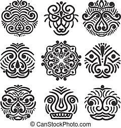 Vector Ethnic Design Elements