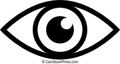 vector eye design on a white background