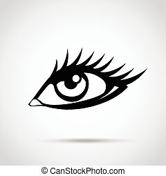 Vector eye icon
