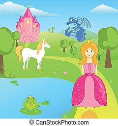 Vector Fairytale