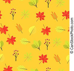 Vector Fall Leaves